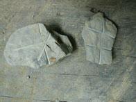 Steine mit Mustern